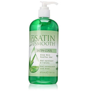 Satin Smooth Satin Cool Aloe Vera Skin Soother Gel 473ml - Professional Salon Brands