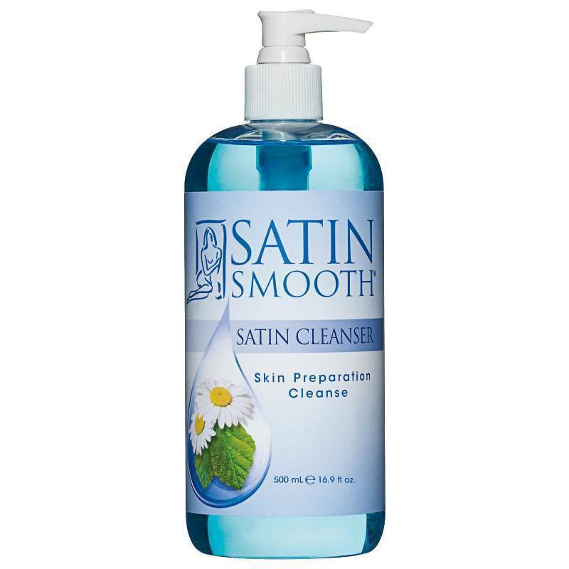 Satin Smooth Satin Cleanser Skin Preparation 473ml - Professional Salon Brands