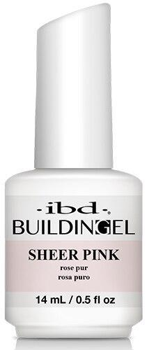 ibd Builder Gel Bottle -  Sheer Pink 14ml