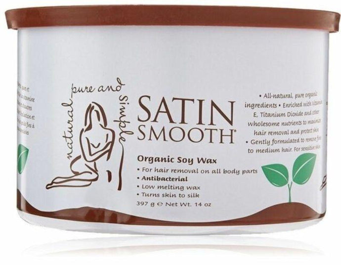 Satin Smooth Soy Strip Wax 397g - Professional Salon Brands
