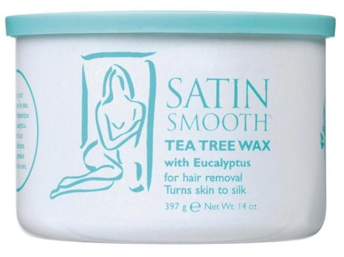 Satin Smooth Tea Tree Strip Wax 397g - Professional Salon Brands