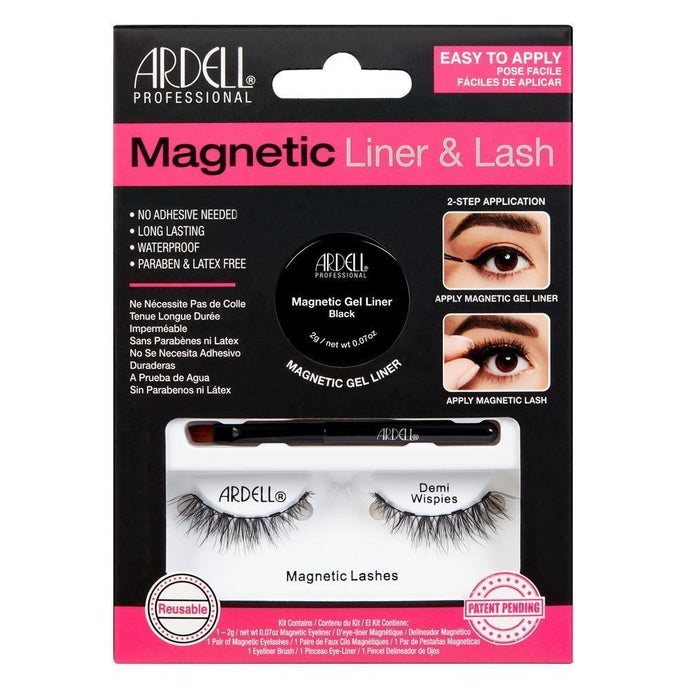 Ardell Magnetic Lash & Liner - Demi Wispies - Professional Salon Brands