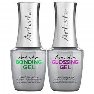 Artistic Bonding and Glossing Gel Duo Pack - Professional Salon Brands