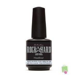 Rock Hard LED GEL   -   HEADLINER   -   Brush On Clear Gel - Professional Salon Brands