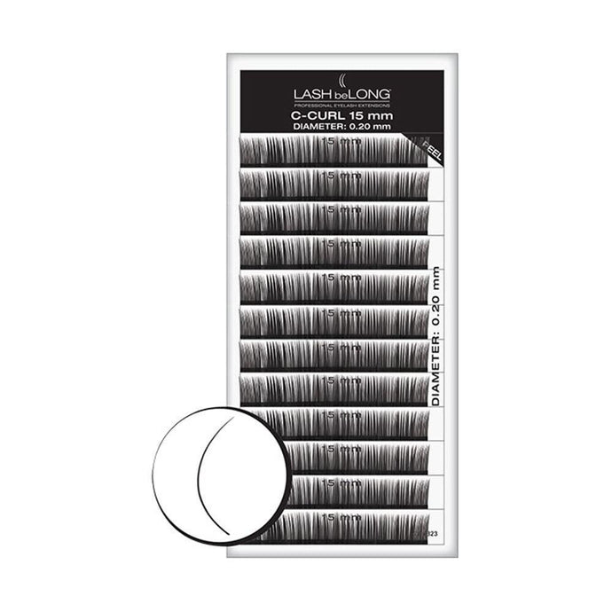 LASH beLONG C-Curl Lashes Variety Pack - Professional Salon Brands