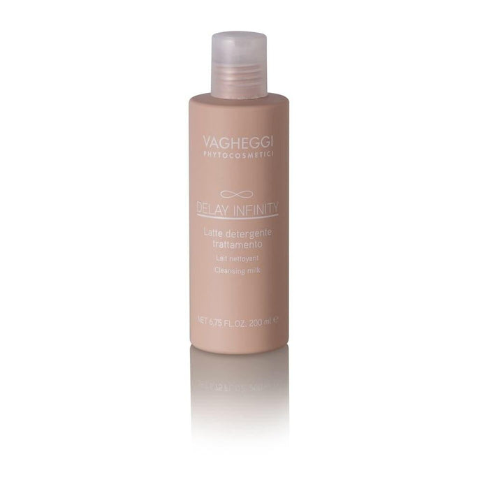 Vagheggi Delay Infinity Cleansing Milk 200ml - Professional Salon Brands