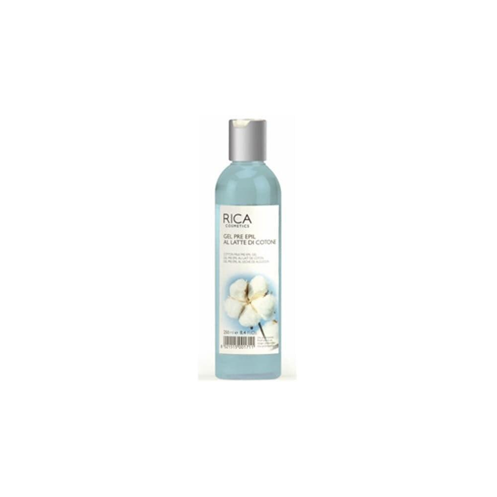 Rica Cotton Milk Pre Waxing Gel 250ml - Professional Salon Brands