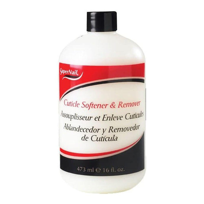 Supernail Cuticle Softener & Remover 473ml - Professional Salon Brands
