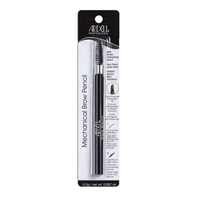 Ardell Mechanical Brow Pencil with Spoolie - Dark Brown - Professional Salon Brands