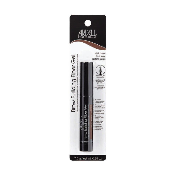 Ardell Brow Building Fibre Gel - Dark Brown - Professional Salon Brands