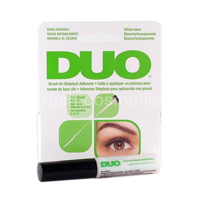 Ardell Duo Brush On Adhesive with Vitamins 5g - Clear - Professional Salon Brands