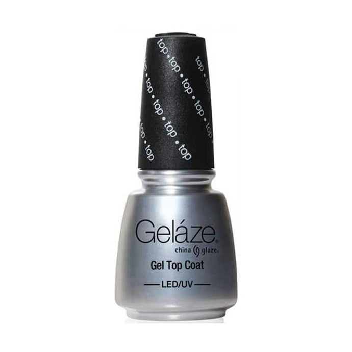 China Glaze Gelaze Gel Top Coat - Professional Salon Brands