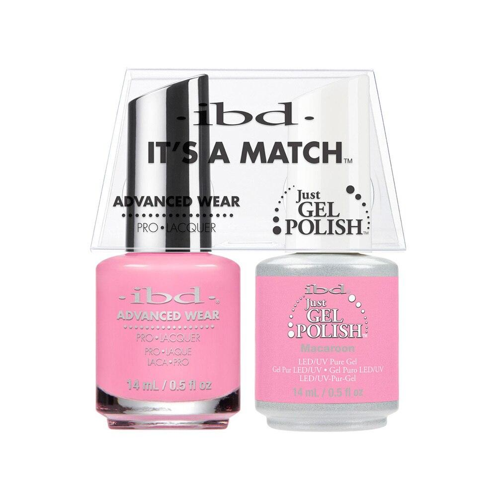 ibd Gel Polish & Lacquer Duo - Macaroon - Professional Salon Brands