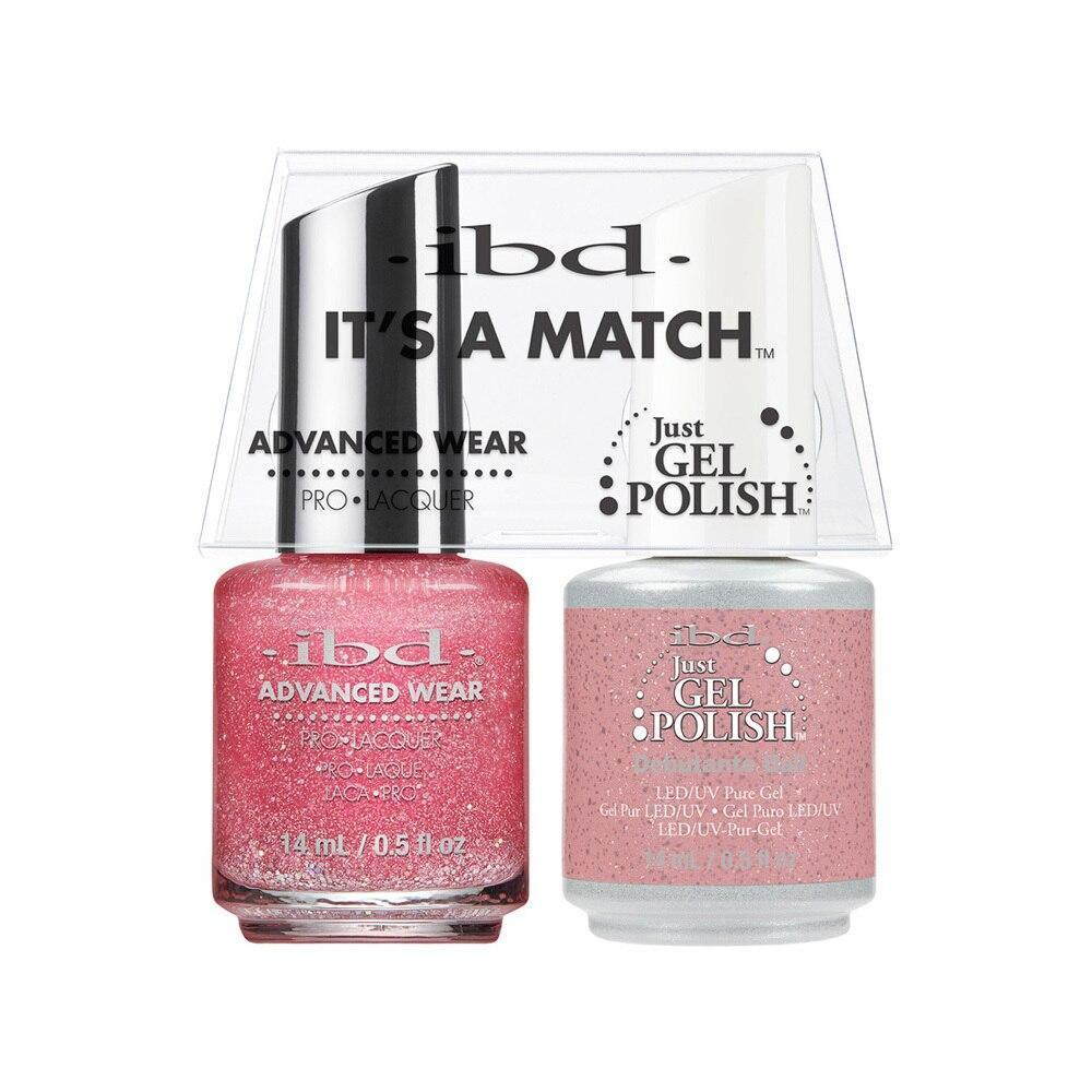 ibd Gel Polish & Lacquer Duo - Debutante Ball - Professional Salon Brands