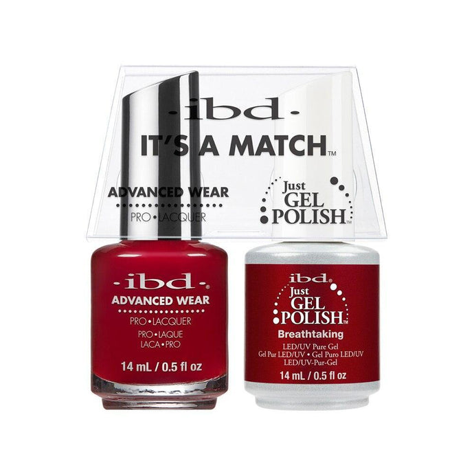 ibd Gel Polish & Lacquer Duo - Breathtaking - Professional Salon Brands