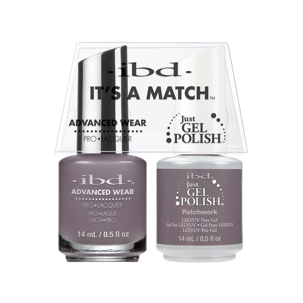 ibd Gel Polish & Lacquer Duo - Patchwork - Professional Salon Brands