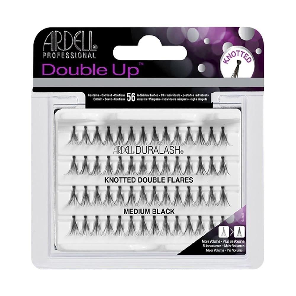 Ardell Lashes Double Individuals Knotted - Medium Black - Professional Salon Brands