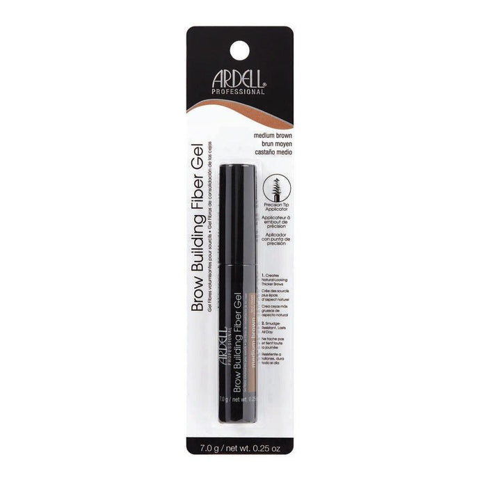 Ardell Brow Building Fibre Gel - Medium Brown - Professional Salon Brands