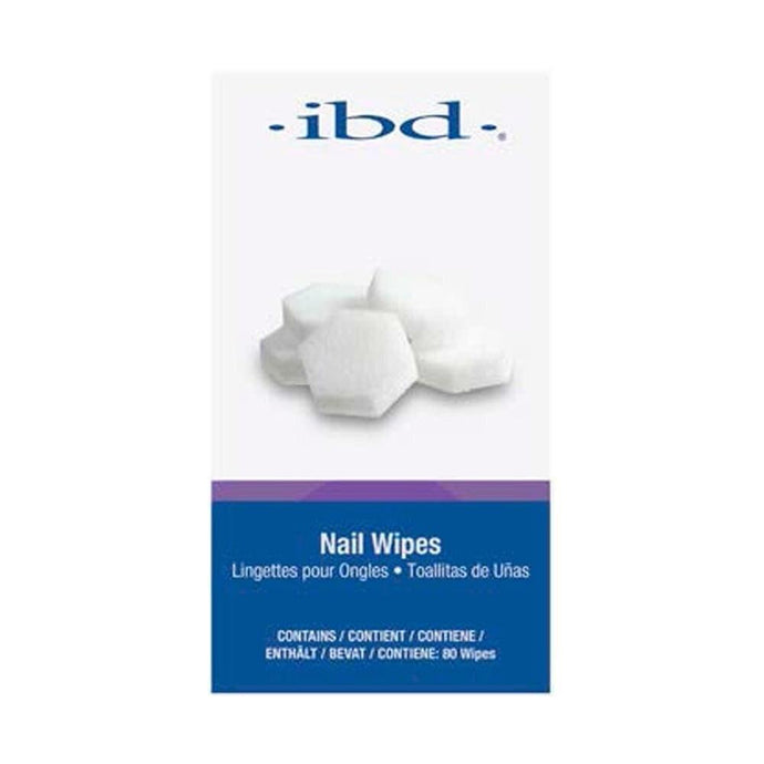 ibd Nail Wipes (80 Count) - Professional Salon Brands