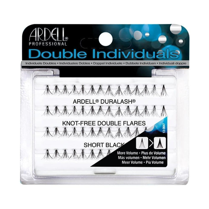 Ardell Lashes Double Individuals Knot-Free - Short Black - Professional Salon Brands
