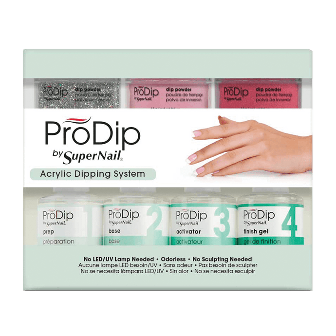 ProDip Acrylic Dipping System Starter Kit 11Pc - Professional Salon Brands
