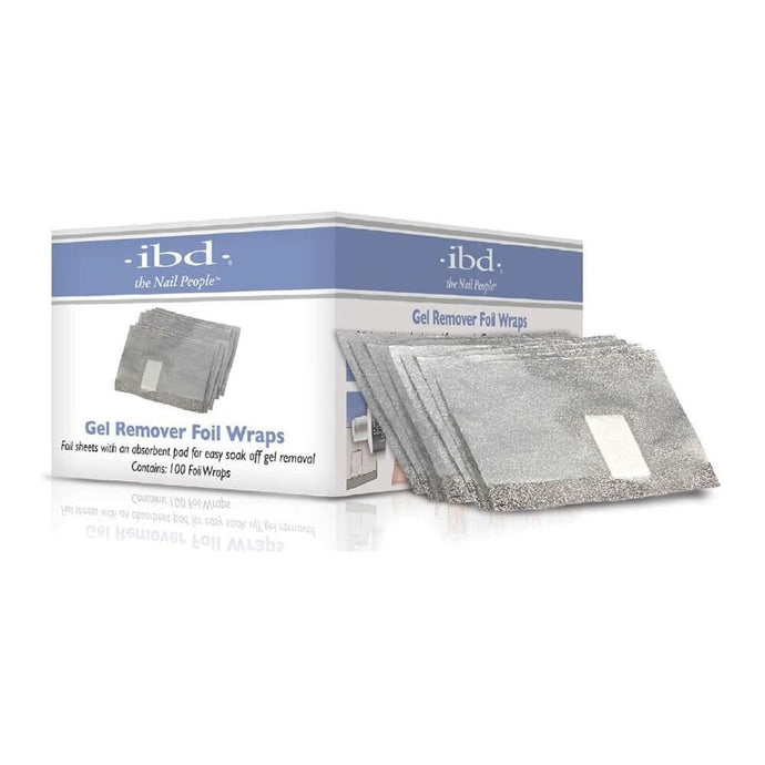 ibd Gel Remover Foil Wraps - Professional Salon Brands