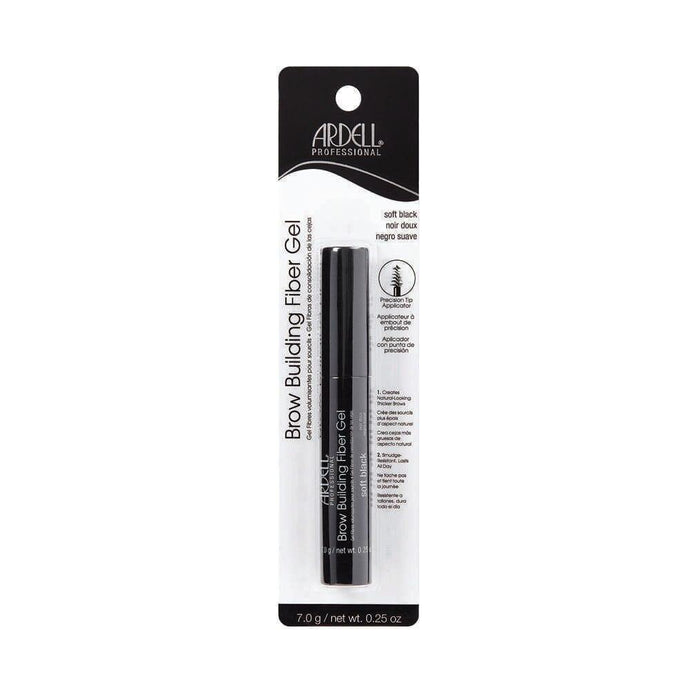 Ardell Brow Building Fibre Gel - Soft Black - Professional Salon Brands