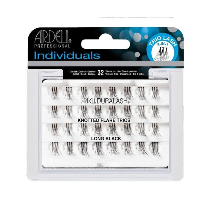Ardell Lashes Trio Individuals - Long Black - Professional Salon Brands