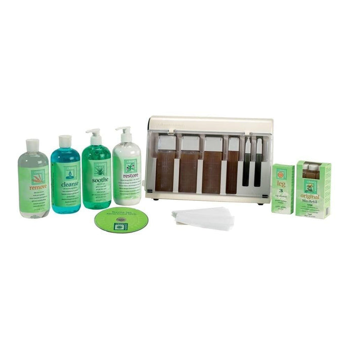 Clean & Easy Waxing Spa Kit - Professional Salon Brands