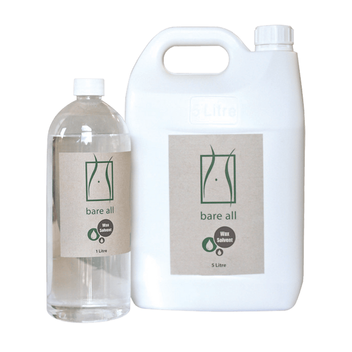 Bare All Clear Wax Solvent 5L - Professional Salon Brands