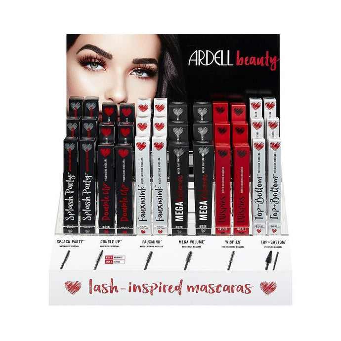 Ardell Beauty Mascara Bar 36 Piece Display - Professional Salon Brands