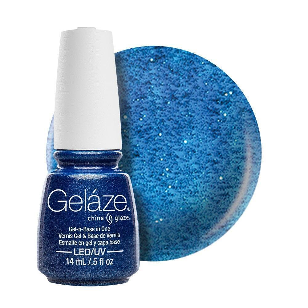 China Glaze Gelaze Gel & Base 14ml - Dorothy Who? - Professional Salon Brands