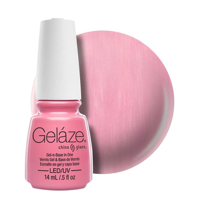 China Glaze Gelaze Gel & Base 14ml - Exceptionally Gifted - Professional Salon Brands