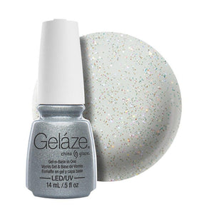 China Glaze Gelaze Gel & Base 14ml - Fairy Dust - Professional Salon Brands