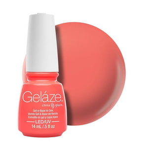 China Glaze Gelaze Gel & Base 14ml - Flip Flop Fantasy - Professional Salon Brands