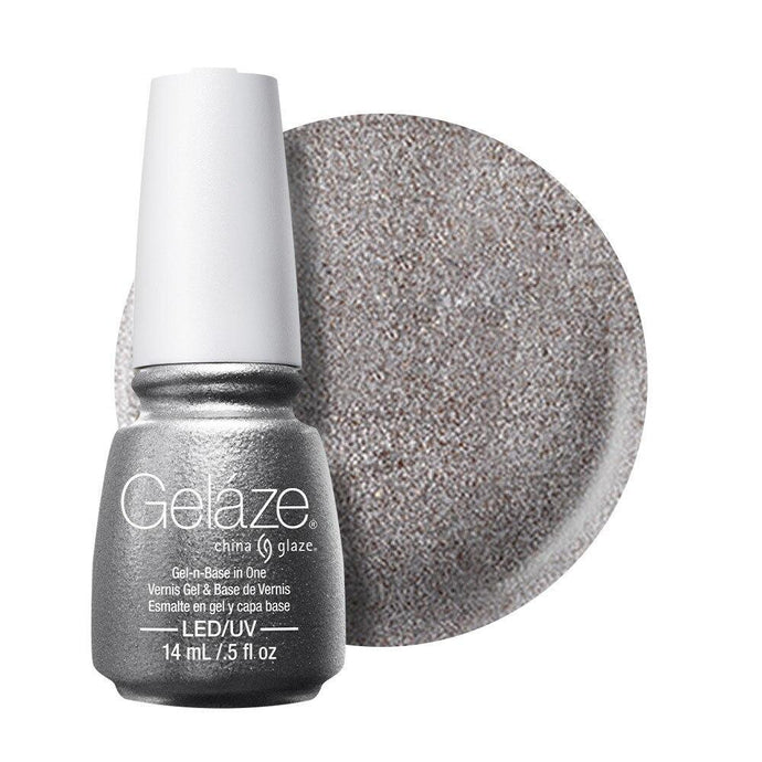 China Glaze Gelaze Gel & Base 14ml - Gossip Over Gimlets - Professional Salon Brands