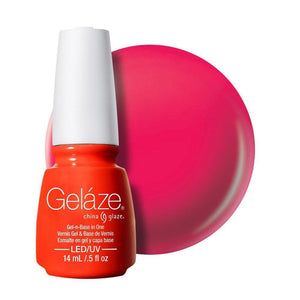 China Glaze Gelaze Gel & Base 14ml - High Hopes - Professional Salon Brands