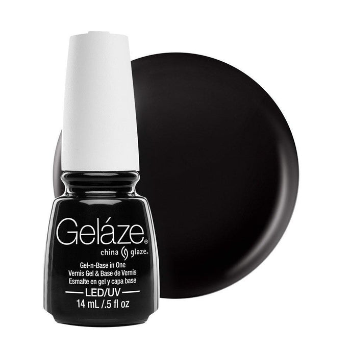 China Glaze Gelaze Gel & Base 14ml - Liquid Leather - Professional Salon Brands