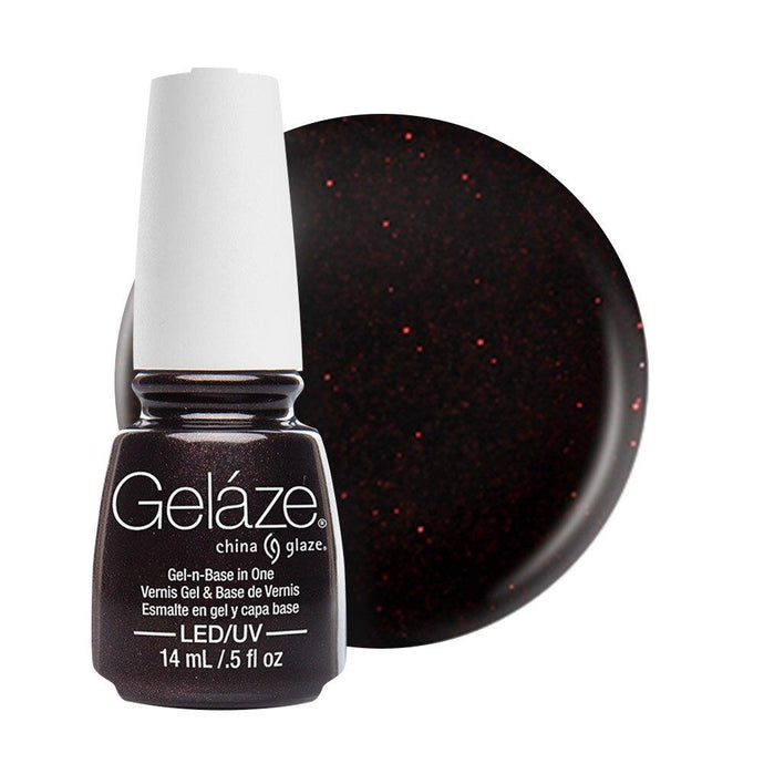 China Glaze Gelaze Gel & Base 14ml - Lubu Heels - Professional Salon Brands