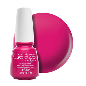 China Glaze Gelaze Gel & Base 14ml - Rich & Famous - Professional Salon Brands