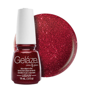 China Glaze Gelaze Gel & Base 14ml - Ruby Pumps - Professional Salon Brands