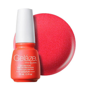 China Glaze Gelaze Gel & Base 14ml - Surfin' For Boys - Professional Salon Brands