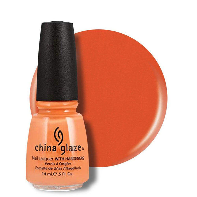 China Glaze Nail Lacquer 14ml - Peachy Keen - Professional Salon Brands
