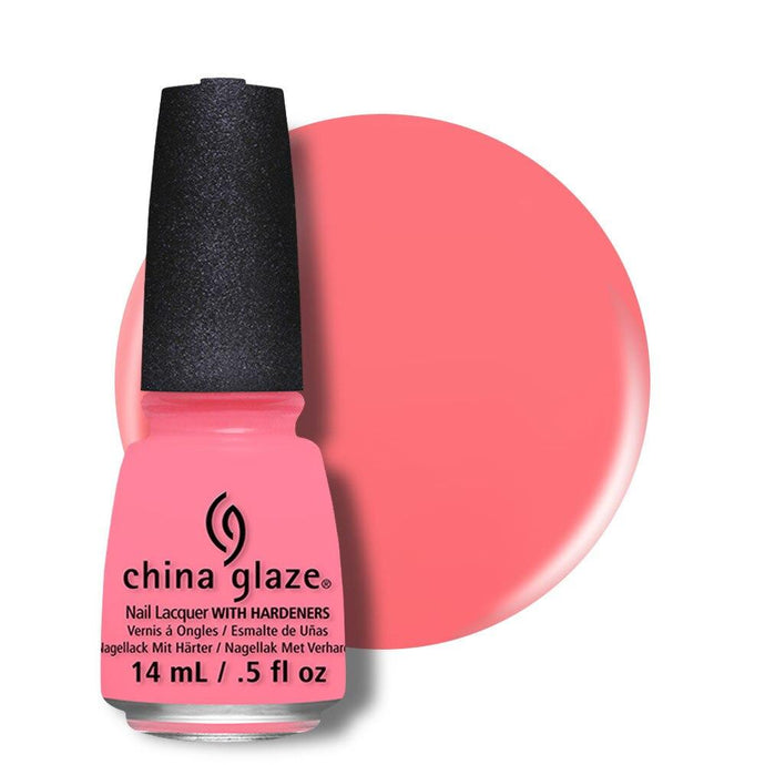China Glaze Nail Lacquer 14ml - Petal To The Metal - Professional Salon Brands