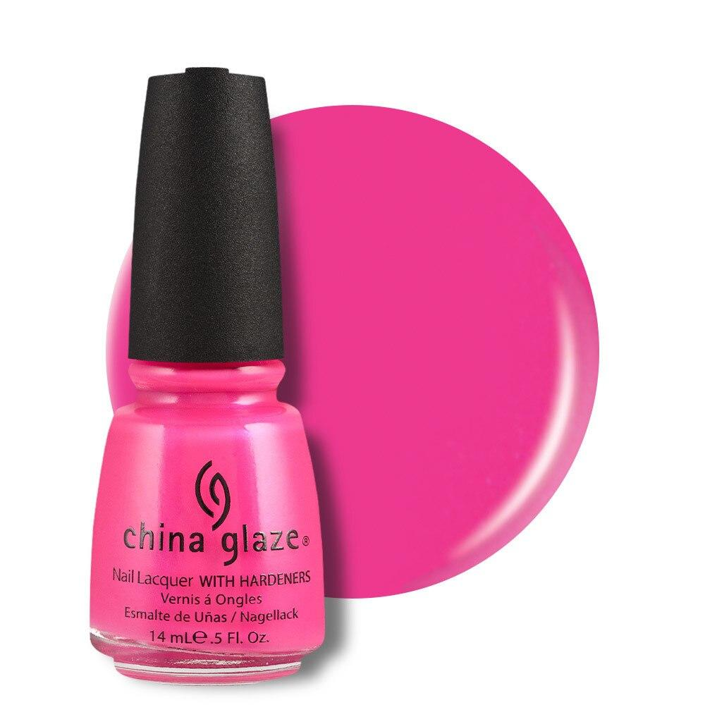 China Glaze Nail Lacquer 14ml - Pink Voltage - Professional Salon Brands
