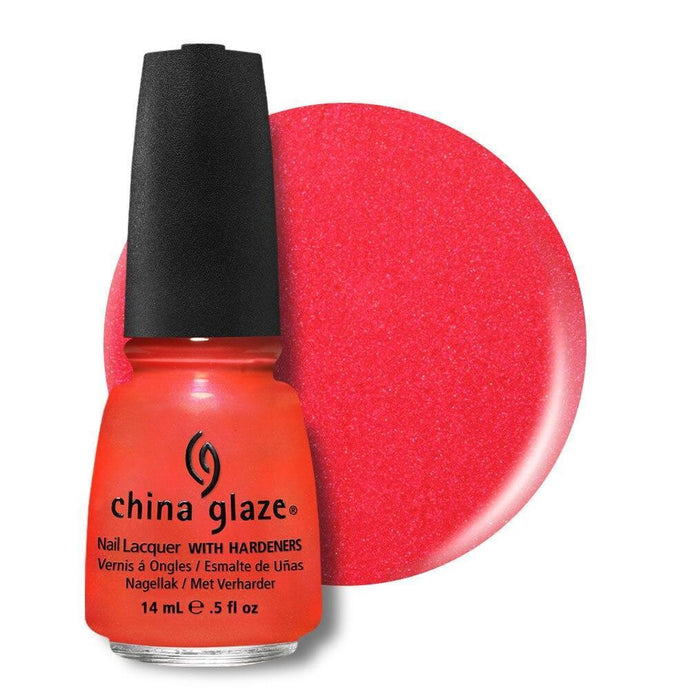 China Glaze Nail Lacquer 14ml - Surfin' for Boys - Professional Salon Brands