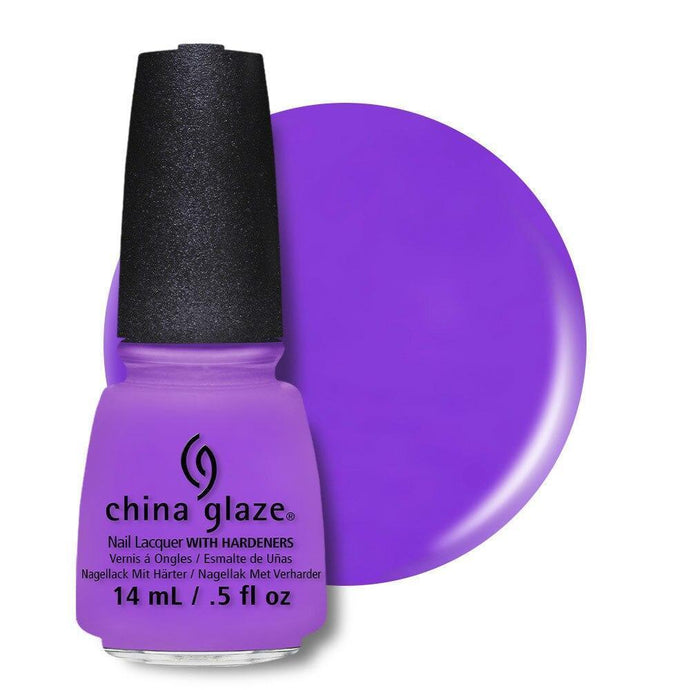 China Glaze Nail Lacquer 14ml - That's Shore Bright - Professional Salon Brands