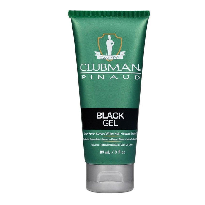 Clubman Pinaud Temporary Black Gel 85g - Professional Salon Brands