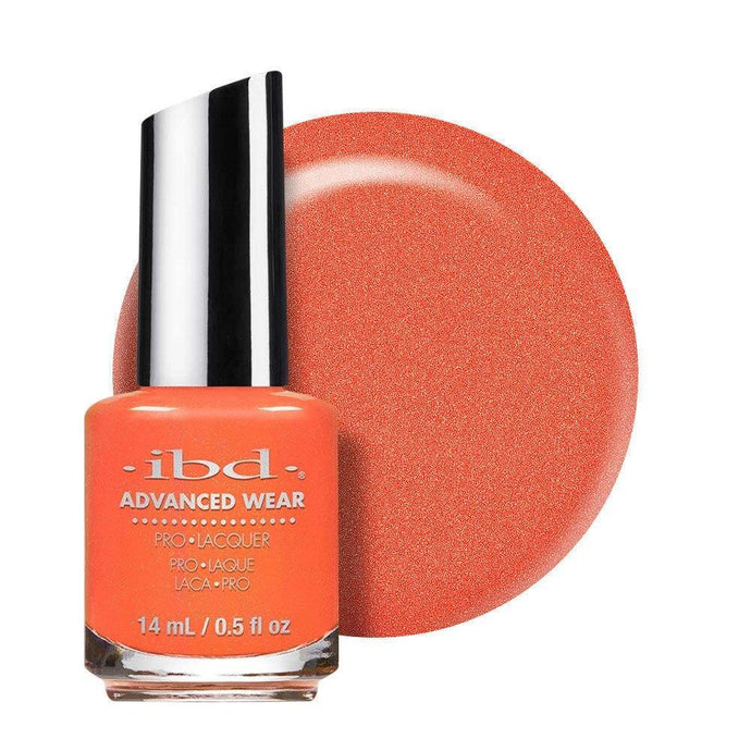 ibd Advanced Wear Lacquer 14ml - Peach Better Have My $ - Professional Salon Brands