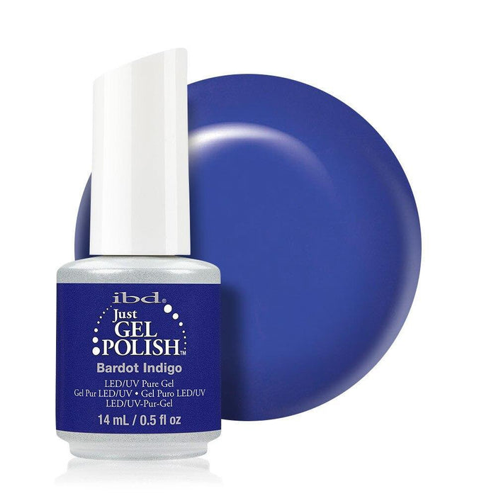 ibd Just Gel Polish 14ml - Bardot Indigo - Professional Salon Brands